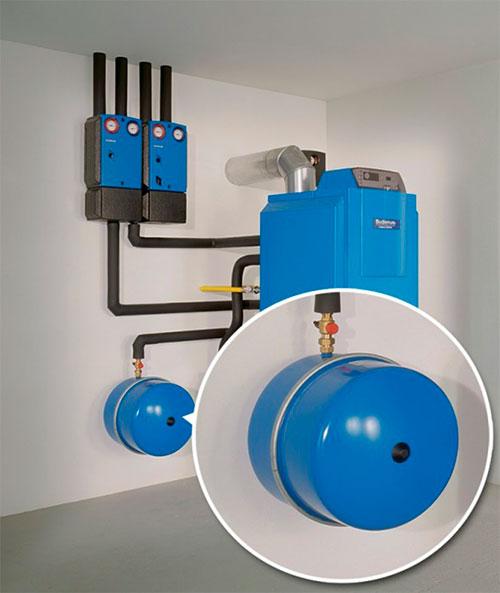 Газовое оборудование с двумя контурами отопления