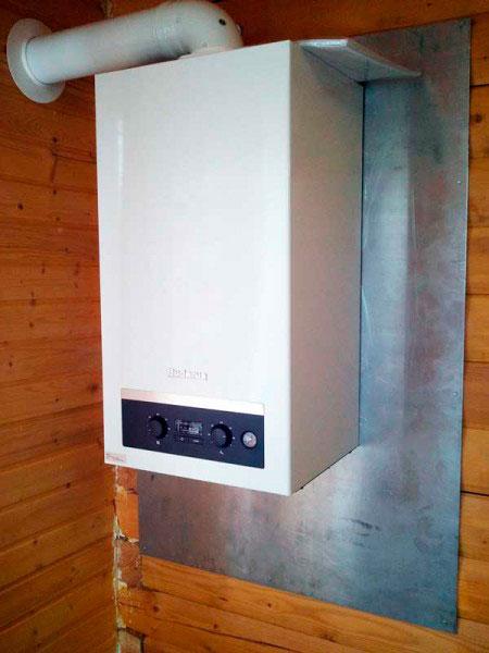 Водяная газовая система отопления