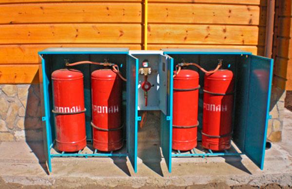 Сжиженный газ – альтернативный метод газового отопления