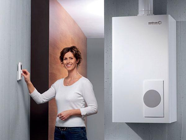 Комфортное отопление с энергонезависимым газовым котлом