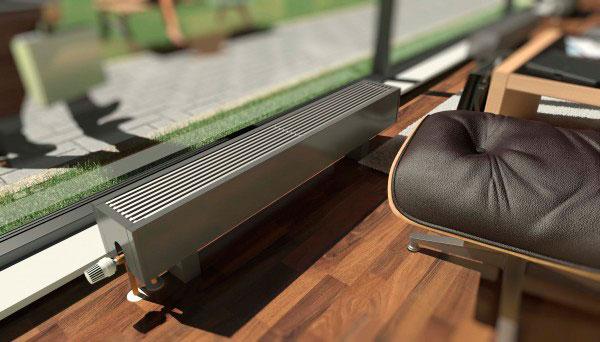 Эффективное отопление с напольными конвекторами