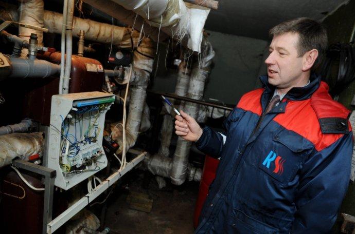 Стандартная схема системы подачи тепла